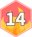 Streak-14days-writing-badge-2019.png